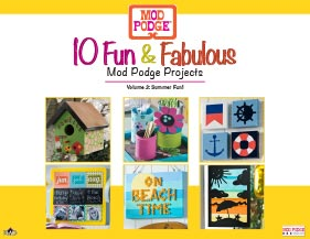 10 Fun and Fabulous Summer Decoupage Project Ideas
