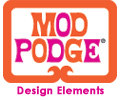 Mod Podge Design Elements  Logo