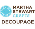 Martha Stewart Crafts ® Decoupage Logo