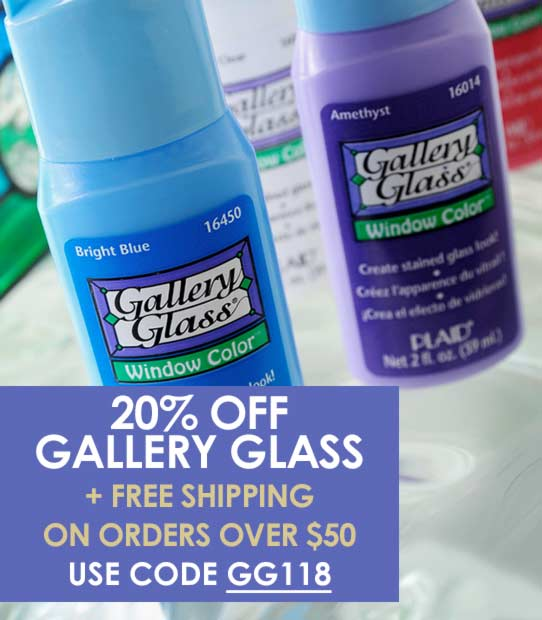 20% off Gallery Glass