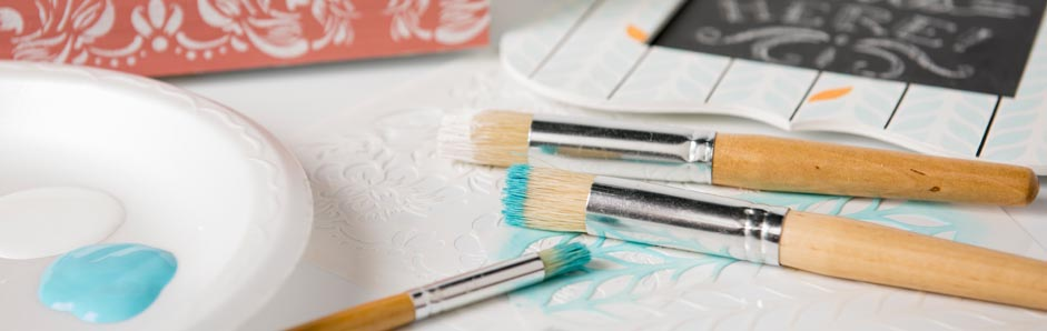 Stencil Brushes, Tools & Accessories