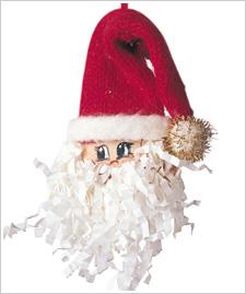 Santa Ornament PJ_EUT_835
